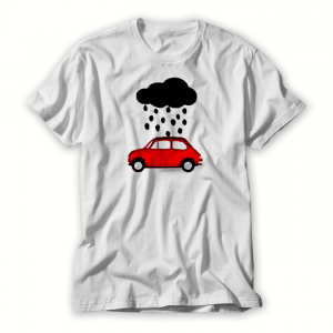 Rain With Car T shirt