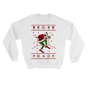 Grinch Hotline Bling Ugly Christmas Sweatshirt
