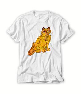 Abba yellow cat T Shirt