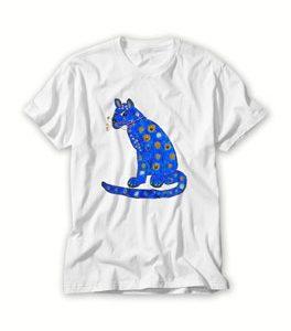 Abba blue cat T Shirt