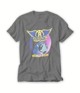 Aerosmith world tour T Shirt