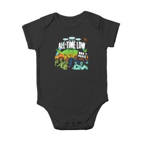 All time low don't panic Baby Onesie