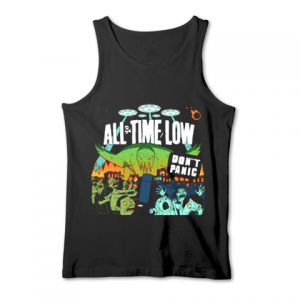 All time low don't panic Tank Top