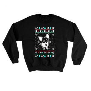 Chihuahua Ugly Christmas Sweatshirt