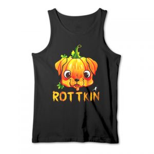 Rottweiler Rottkin Halloween Tank Top
