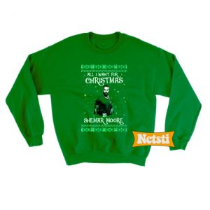 All I Want For Christmas Is Shemar Moore Ugly Christmas Sweatshirt