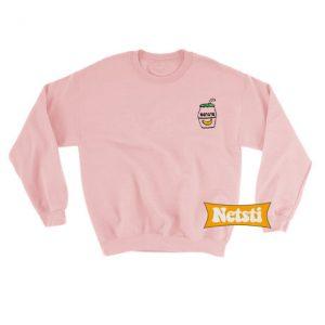 Banana Drink Chic Fashion Sweatshirt