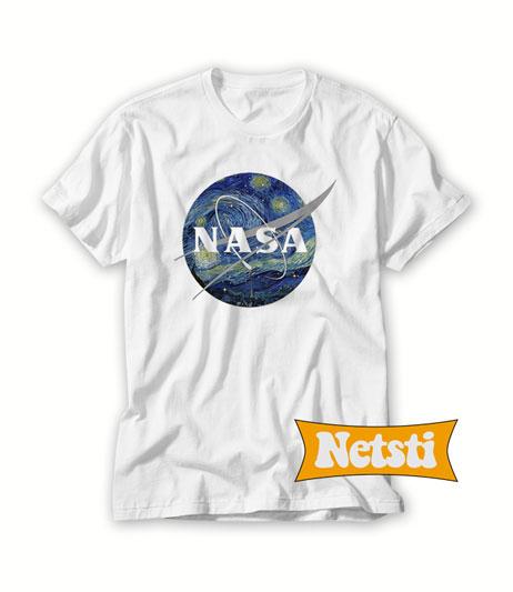 4e4bb90ee44 Nasa Starry Night T shirt Unisex This Year. Nasa Starry Night