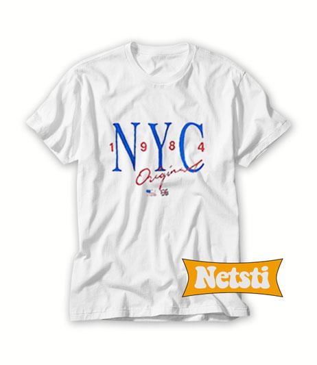 NYC 1984 Original T shirt Unisex This Year. NYC 1984 Original a3a3863afcc