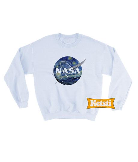 6f09f35ee69 Nasa Starry Night Sweatshirt Unisex This Year. Nasa Starry Night