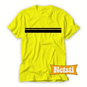 Stripe Line Chic Fashion T Shirt