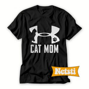 Under armour cat mom T Shirt