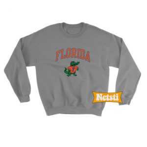 Vintage Florida Gators Basketball Chic Fashion Sweatshirt