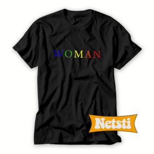 Woman Colored T Shirt