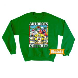 Autobots Roll Out Transformers Ugly Christmas Sweatshirt