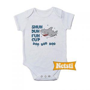 Baby Shark Shuh duh fuh cup doo doo doo Baby Onesie