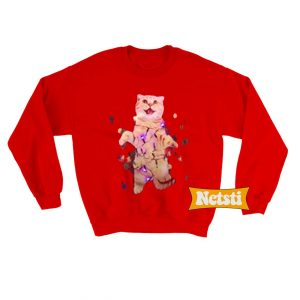 Cat Christmas Ugly Christmas Sweatshirt