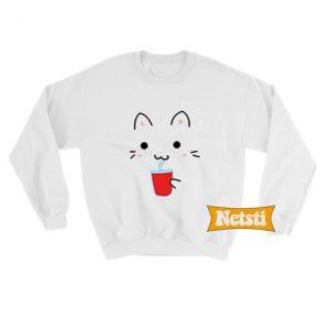 Cute Kawaii Cat Chic Fashion Sweatshirt