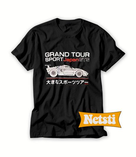 Grand Tour Sport Japan GTS Chic Fashion T Shirt