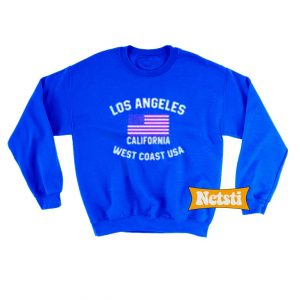 Los Angeles California West Coast USA Chic Fashion Sweatshirt