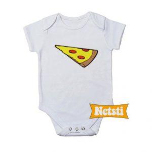 Pizza Slice Dad Son Matching Baby Onesie