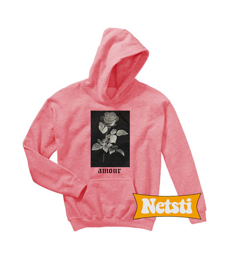 Rose Amour Chic Fashion Hoodie