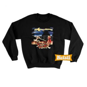 Street fighter Chic Fashion Sweatshirt