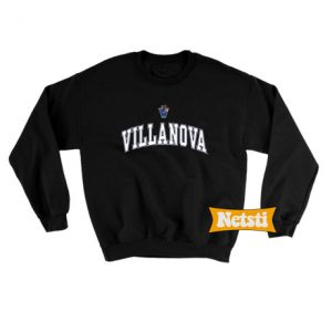 Villanova Logo Chic Fashion Sweatshirt