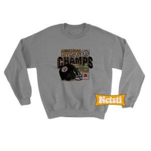 Vintage 1994 Pittsburgh Steelers 1994 AFC Champs Chic Fashion Sweatshirt