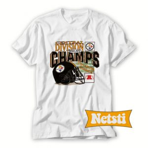 Vintage 1994 Pittsburgh Steelers 1994 AFC Champs Chic Fashion T Shirt