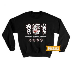 101 Days Of School Today Chic Fashion Sweatshirt