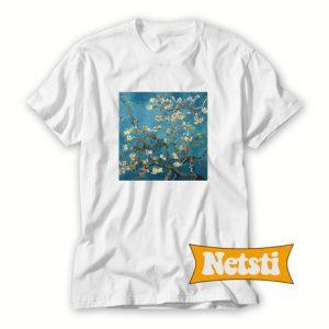 Almond Blossoms by Van Gogh Chic Fashion T Shirt
