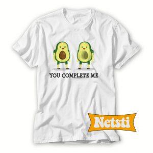 Avocado You Complete Me Chic Fashion T Shirt