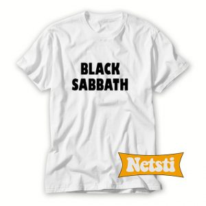 Black sabbath Chic Fashion T Shirt