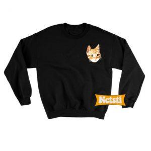 Cat Chic Fashion Sweatshirt