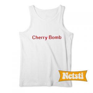Cherry Bomb Chic Fashion Tank Top