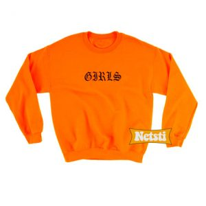 Girls Chic Fashion Sweatshirt