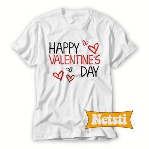 Happy valentines day Chic Fashion T Shirt