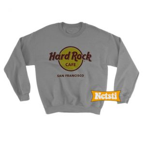 Hard Rock San Francisco Chic Fashion Sweatshirt