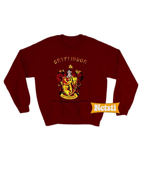 ff37e44b2 Harry Potter Gryffindor Quidditch Chic Fashion Sweatshirt Unisex