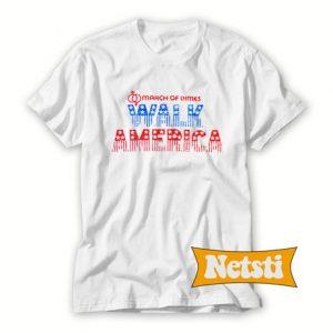 March of Dimes Walk America Chic Fashion T Shirt