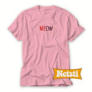 Meow Chic Fashion T Shirt