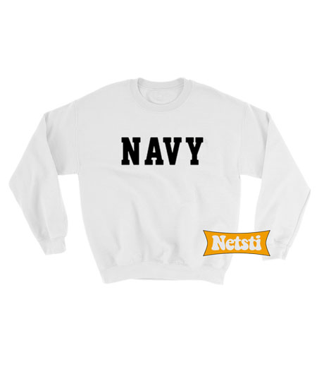 Navy Chic Fashion Sweatshirt
