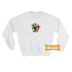 Powerpuff Girls Chic Fashion Sweatshirt