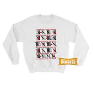 Valentine teacher Chic Fashion Sweatshirt