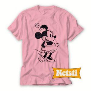 Vintage Minnie Mouse Chic Fashion T Shirt