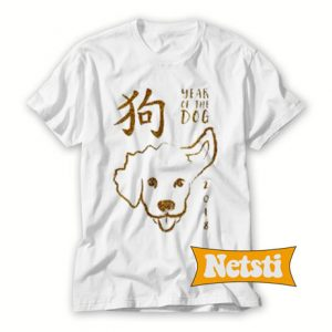 Year Of The Dog Chic Fashion T Shirt