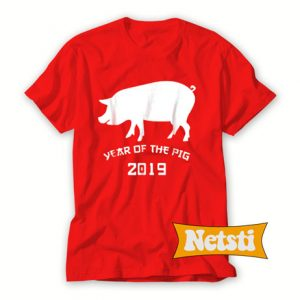 Year of The Pig 2019 Chic Fashion T Shirt