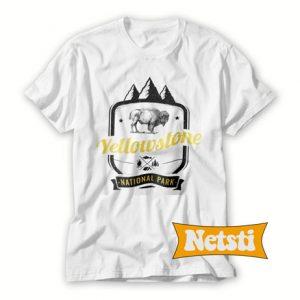 Yellowstone Park Retro Chic Fashion T Shirt