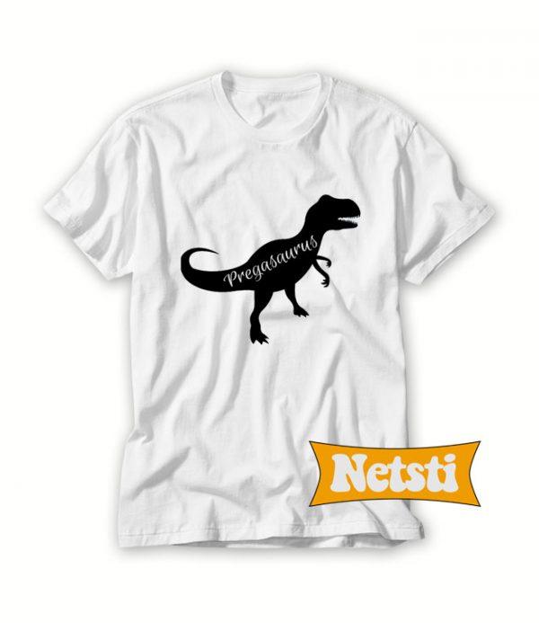 Pregasaurus Chic Fashion T Shirt